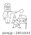 シニア 人物 再就職のイラスト 28514543