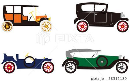 クラシックカー イラストのイラスト素材 28515189 Pixta