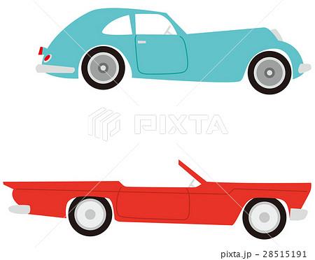 クラシックカー イラストのイラスト素材 28515191 Pixta