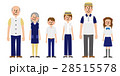 ベクター ファミリー 人物のイラスト 28515578