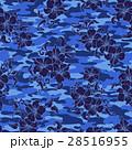 花 花柄 ハイビスカスのイラスト 28516955