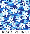花 花柄 ハイビスカスのイラスト 28516961