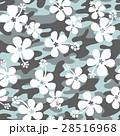 花 花柄 ハイビスカスのイラスト 28516968