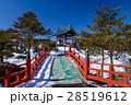 鬼押出し園 冬 積雪の写真 28519612
