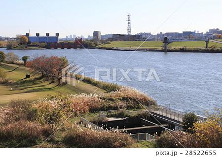 日本初の環境用水導水管の取水口(埼玉高速鉄道) 28522655
