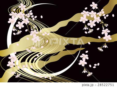 桜の花の背景 28522751