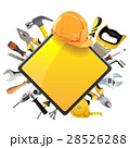 Vector Rhombic Sign with Tools 28526288