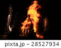 Burning of Maslenitsa Scarecrow in evening 28527934