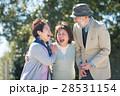笑顔の日本人シニア男女 28531154