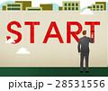 ビジネス ビジネスマン 実業家のイラスト 28531556