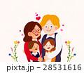 ファミリー 家庭 家族のイラスト 28531616