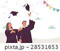 お祝い 祝い 卒業のイラスト 28531653