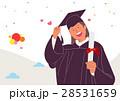 お祝い 祝い 卒業のイラスト 28531659