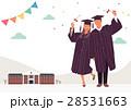 お祝い 祝い 卒業のイラスト 28531663