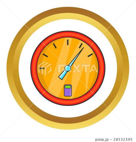 Indicator fuel device vector icon 28532395