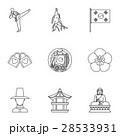 観光 南 朝鮮のイラスト 28533931