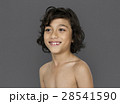 Little Boy Smiling Happiness Bare Chest Portrait 28541590