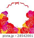 カーネーション リボン フレーム 28542001
