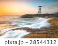 海 灯台 燈台の写真 28544312