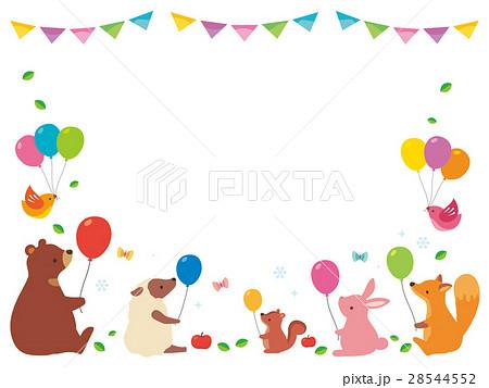 風船を持つ動物たち(2) 28544552