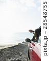 ドライブ 女性 沖縄の写真 28548755