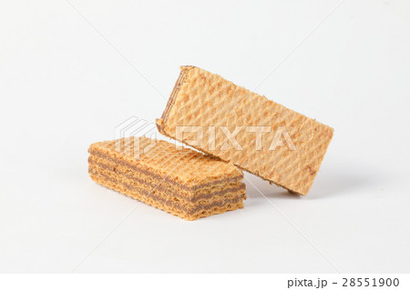 Ctunchy Wafer Biscuitの写真素材 [28551900] - PIXTA