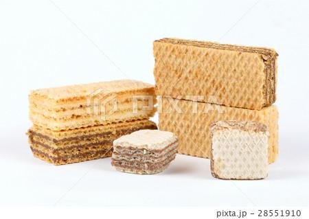 Ctunchy Wafer Biscuitの写真素材 [28551910] - PIXTA
