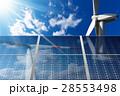 ソーラーパネル 太陽電池パネル 太陽光パネルのイラスト 28553498