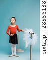 バレリーナ バレエ 女の子の写真 28556138
