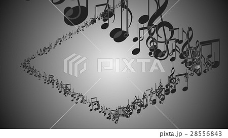 Abstract Background with Colorful Music notes. 28556843