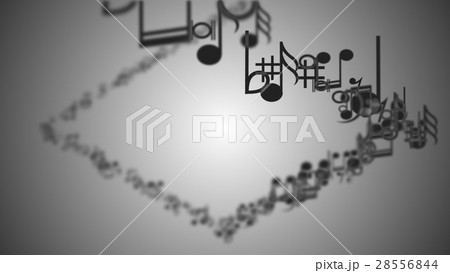 Abstract Background with Colorful Music notes. 28556844