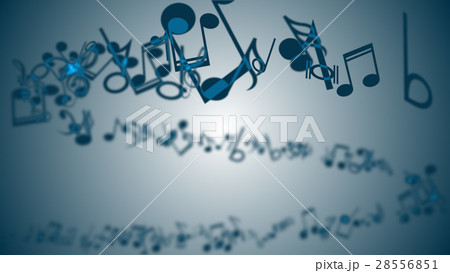 Abstract Background with Colorful Music notes. 28556851
