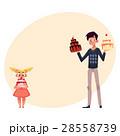 お誕生日 バースデー 誕生日のイラスト 28558739