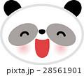 動物 パンダ キャラクター向け 28561901