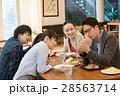 ランチ ビジネスマン カフェ イメージ 28563714