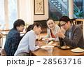 ランチ ビジネスマン カフェ イメージ 28563716