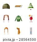 服 衣類 衣料品のイラスト 28564500