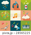 アイコン 音楽 ベクターのイラスト 28565225