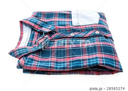 Tartan or Plaid shirtの写真素材 [28565274] - PIXTA