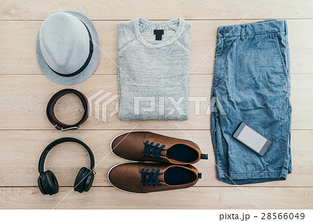 Top of view fashion set for men 28566049