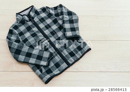 Beautiful men fashion fleece jacketの写真素材 [28566413] - PIXTA