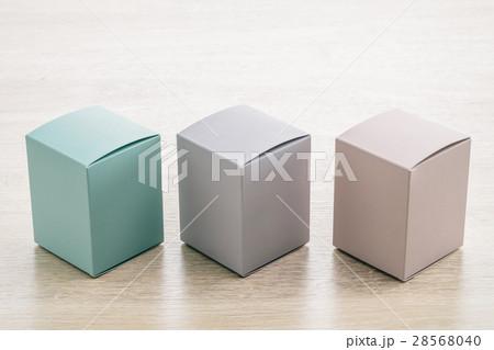 Mock up paper boxの写真素材 [28568040] - PIXTA
