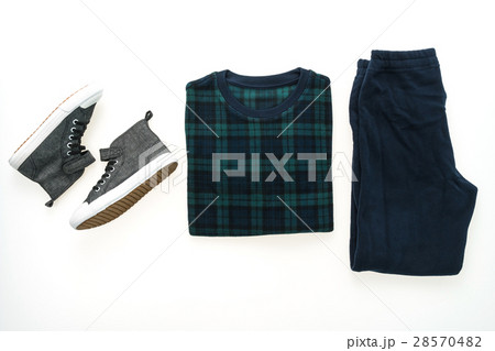 Men clothes setの写真素材 [28570482] - PIXTA