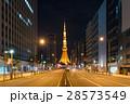 深夜の東京タワー 28573549