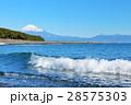 富士山 青空 海の写真 28575303