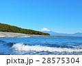 富士山 青空 海の写真 28575304