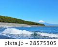 富士山 青空 海の写真 28575305