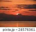 幕張海岸でダイヤモンド富士 28576361