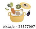野菜 調理 ヘルシーのイラスト 28577997