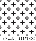 Abstract vector seamless pattern mosaic of black 28578408